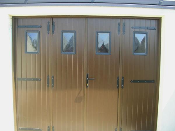 Porte De Garage Sur Mesure Aluminium Calais AD Menuiserie - Porte de garage aluminium